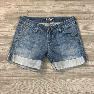 Hudson • Roll Cuff Jean Shorts